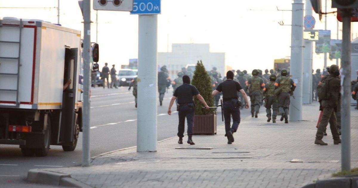 Під час протестів у Мінську є перша жертва