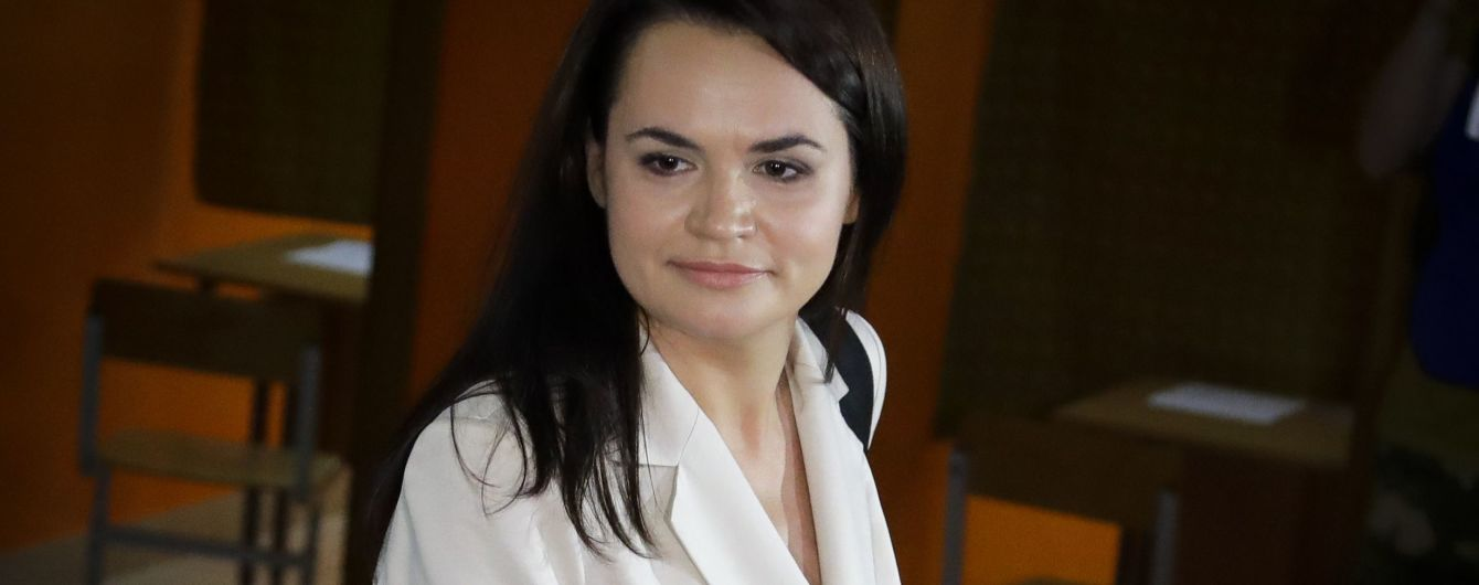 Светлана Тихановская выехала в Литву