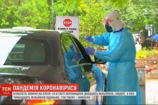 В Україні зафіксовано 1158 нових випадків захворювання на коронавірус