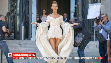 Селин Дион показала фотографии в откровенном костюме