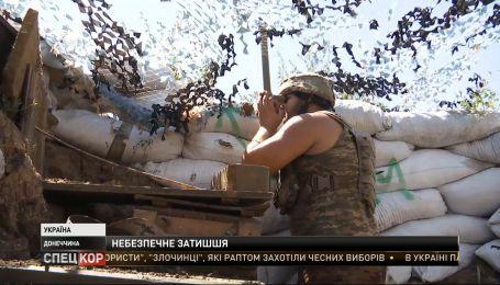 Боевики готовят новые укрепления ближе к украинским позиций - репортаж с передовой