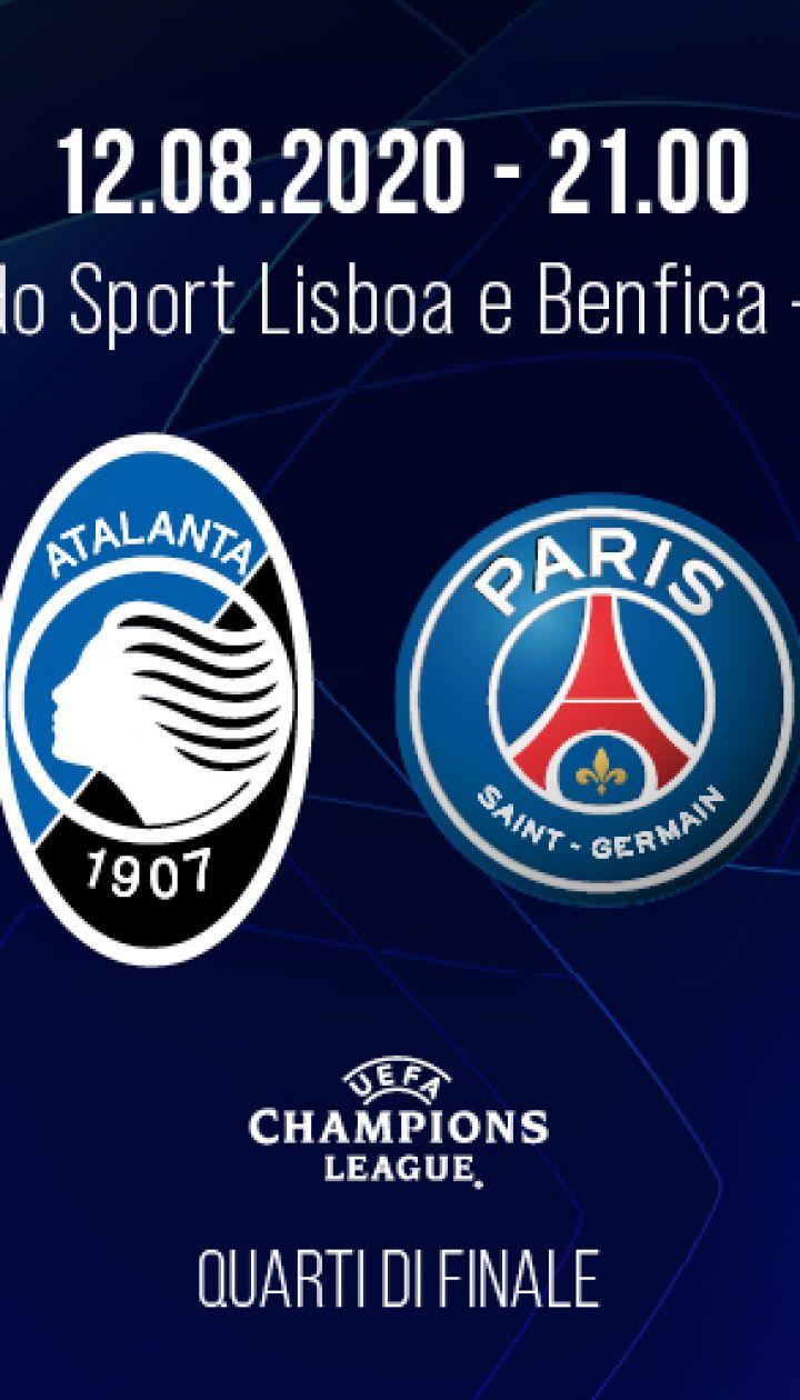 Аталанта - ПСЖ: онлайн-трансляция матча Лиги чемпионов