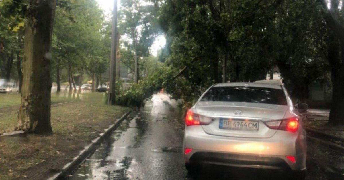 Одессу затопило после ливня: появились фото и видео