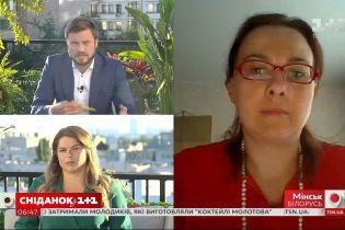 Кандидат в президенты Беларуси Анна Канопацкая рассказала о ситуации в стране