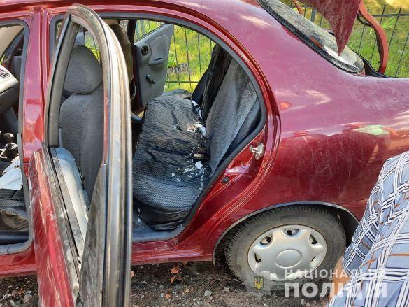 Загальці, викрадене авто