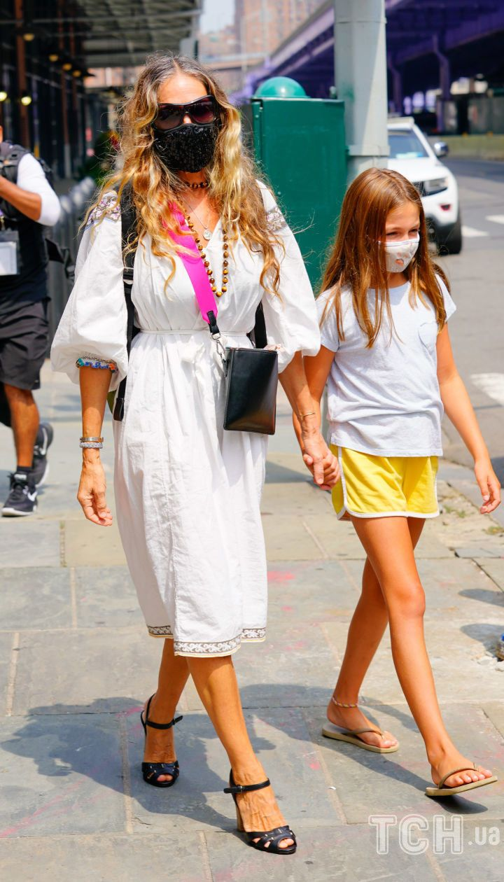 Сара Джессіка Паркер з дочкою