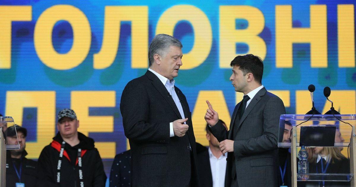 Во второй тур президентских выборов снова бы вышли Зеленский и Порошенко — опрос