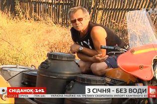 В селе Запорожской области около тысячи человек с января живут без водоснабжения