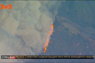 Каліфорнія горить: вогняне кільце стискається довкола Лос-Анджелеса