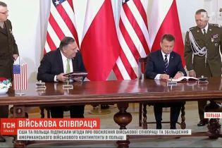 США та Польща посилюють військову співпрацю