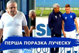 Первое поражение Луческу. Динамо — Десна — 1:4