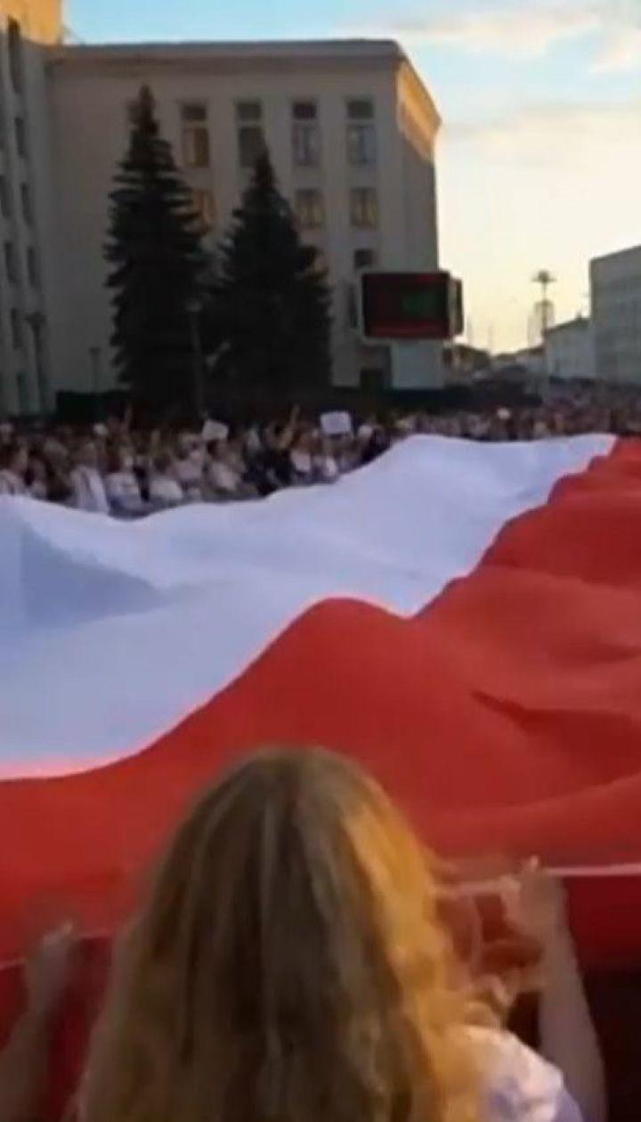Белорусские протестующие объявили бессрочную общенациональную забастовку