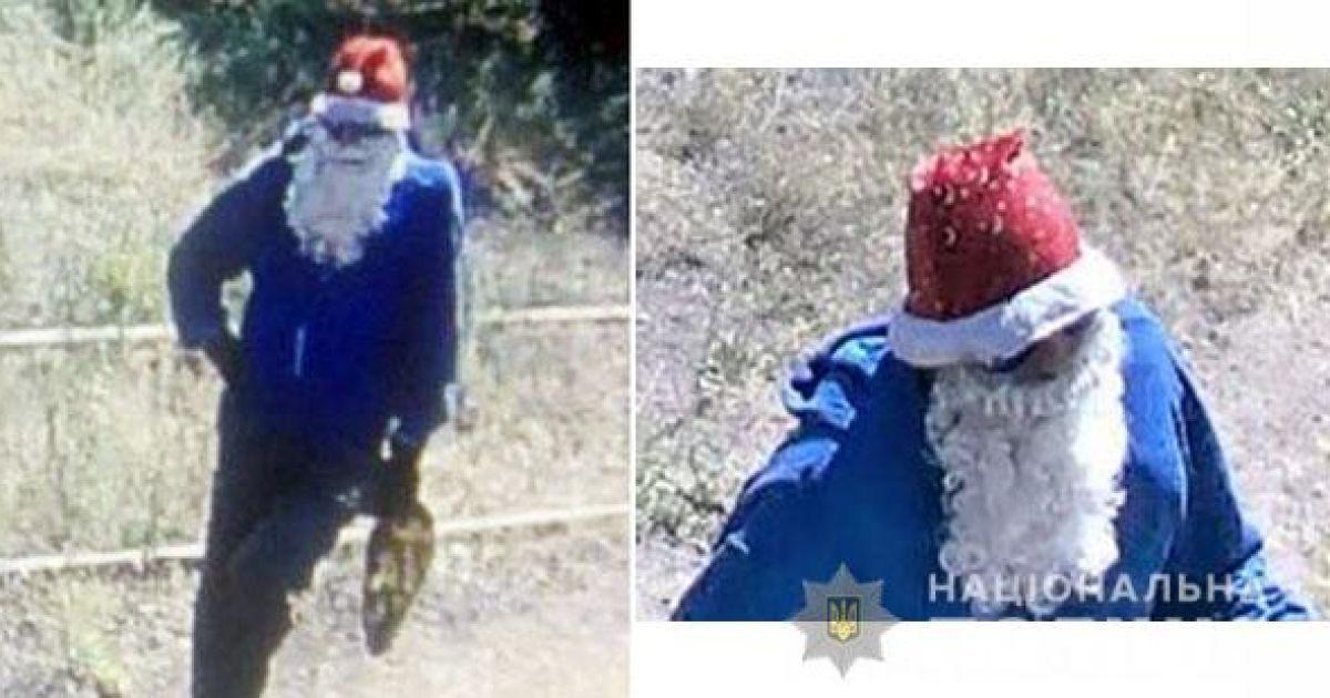 У Маріуполі чоловік замаскувався під Санта Клауса і відкрив стрілянину по охоронцю комбінату