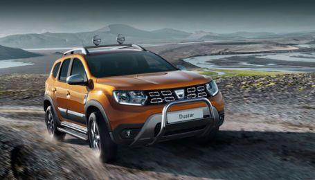Renault вывела на рынок новый кроссовер Duster с турбомотором