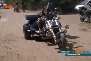 В Кропивницком продолжается масштабный трехдневный фестиваль мотоциклов