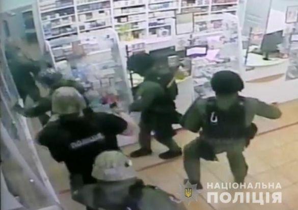 Грабіжник у Києві