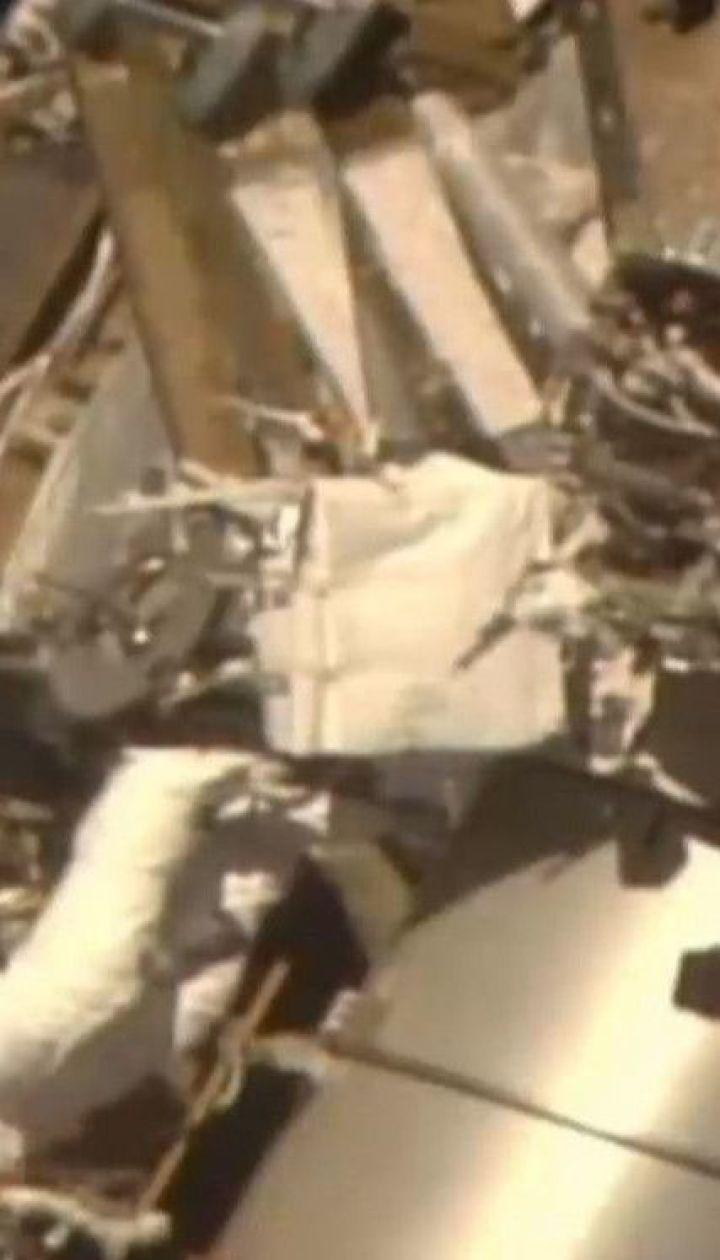 На МКС стався витік повітря