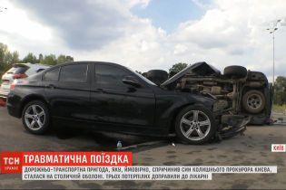 На столичній Оболоні сталася ДТП за участі сина колишнього прокурора Києва