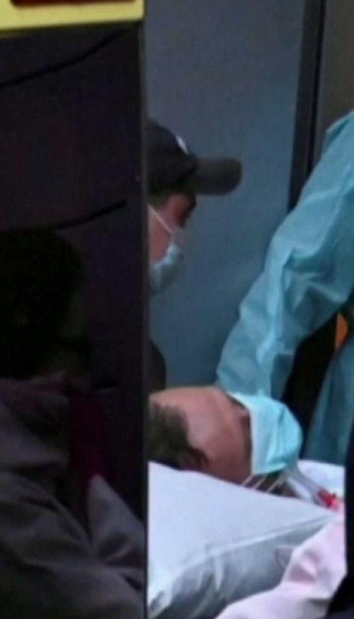 Навального в состоянии комы перевезли в берлинский госпиталь