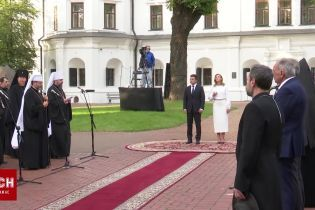 У Києві відбувся молебень із нагоди Дня Незалежності України