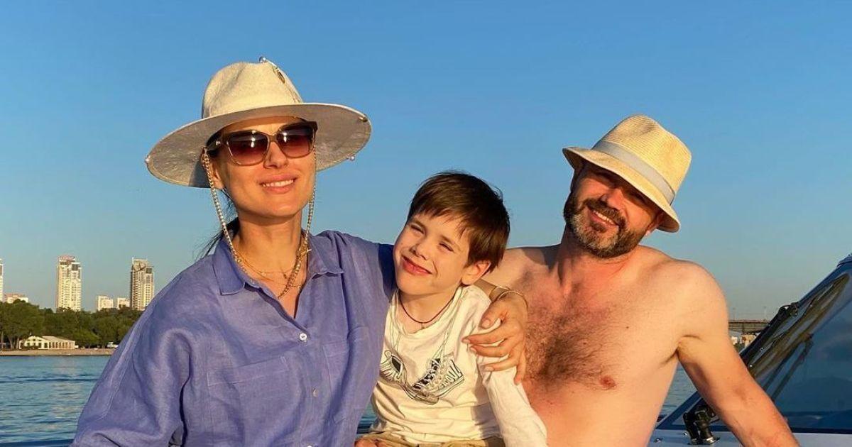 Маша Ефросинина поздравила сына с шестилетием трогательным снимком
