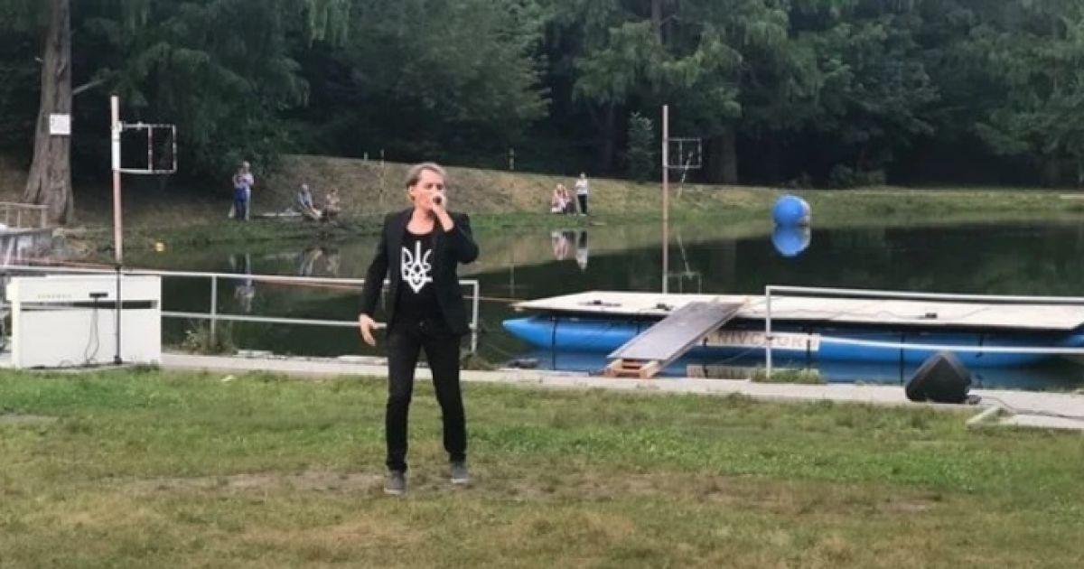 Львовский певец во время своего концерта бросился в воду спасать утопающего