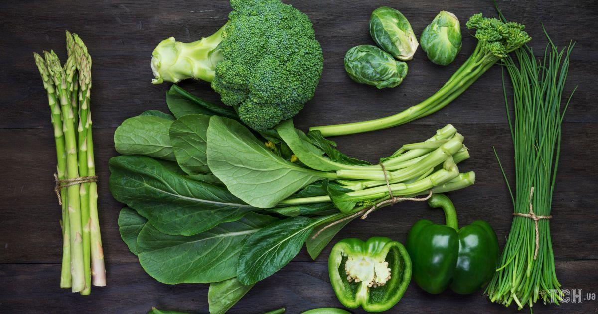 Чому потрібно їсти овочі зеленого кольору