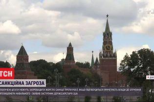 США заявили о жестких санкциях для России, если ее власть окажется причастным к отравлению Навального