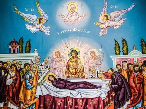Успіння Пресвятої Богородиці ікона