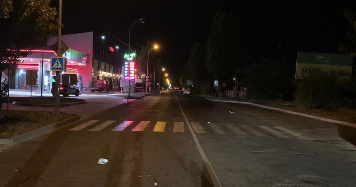 Смертельна ДТП: у Чорноморську водій BMW збив чоловіка неподалік пішохідного переходу
