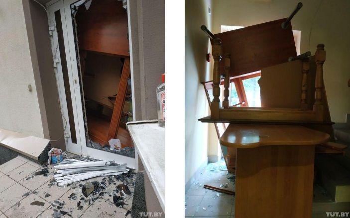 напад на посольство лівії у білорусі