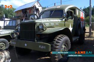 Украинский дорогами проехалась классика военных автомобилей