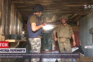 Месяц перемирия: бойцы рассказали, как изменилась их жизнь на передовой