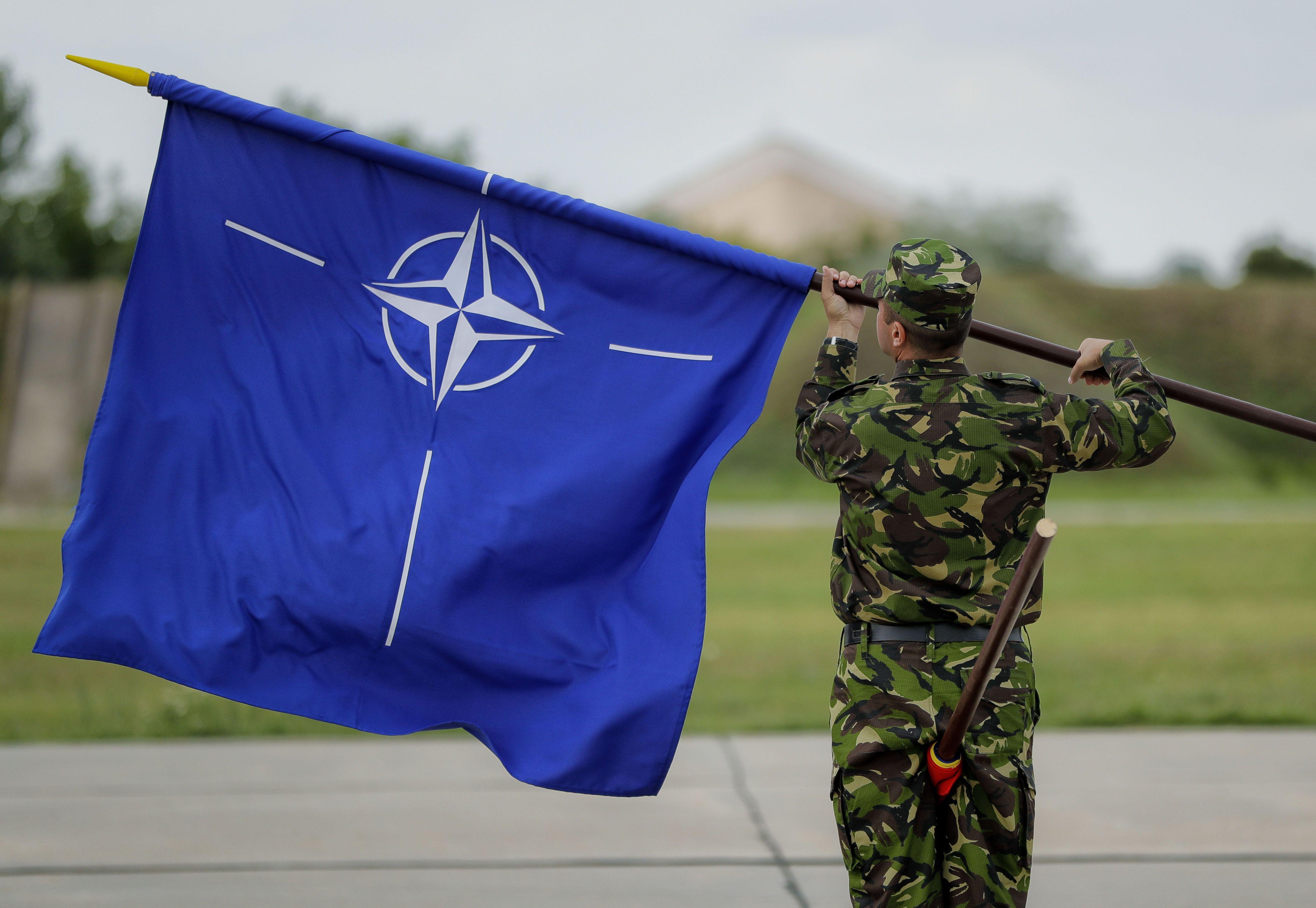 НАТО, прапор