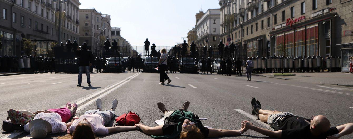 Ще один день протестів у Білорусі: ОМОН затримав 10 мітингувальників