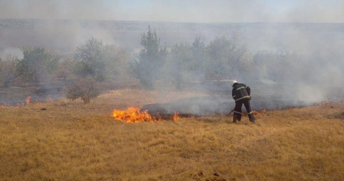 У Миколаївській області масштабна пожежа: з'явились фото