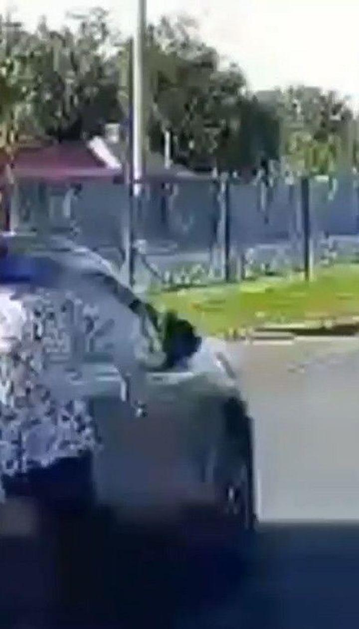 В Харкові водій збив на переході жінку і втік з місця наїзду