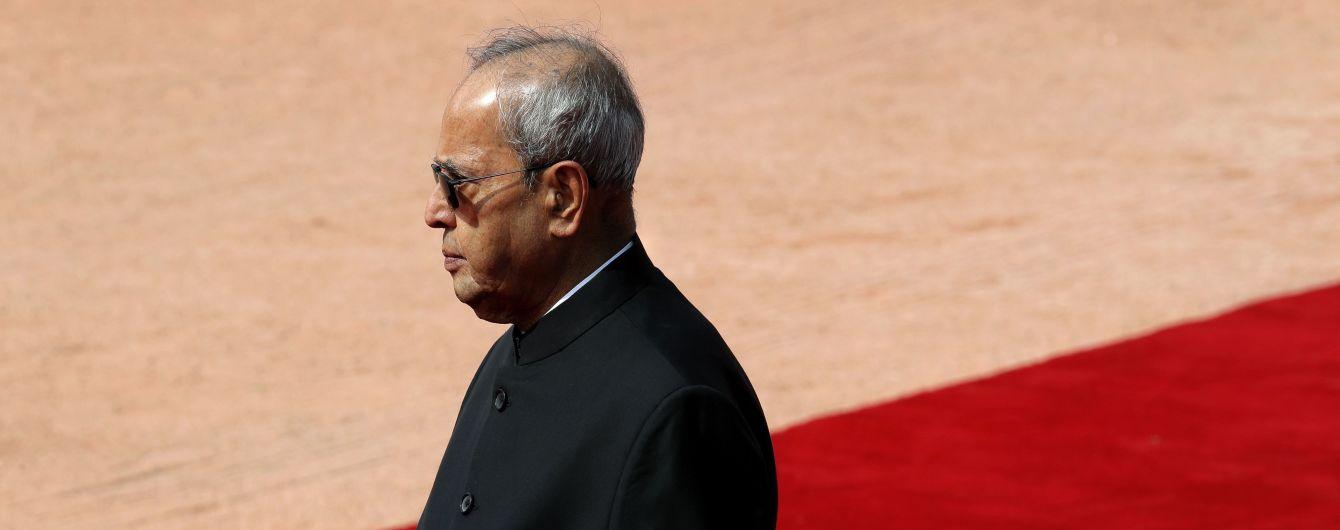 В Индии умер экс-президент Пранаб Мукерджи, у которого диагностировали коронавирус