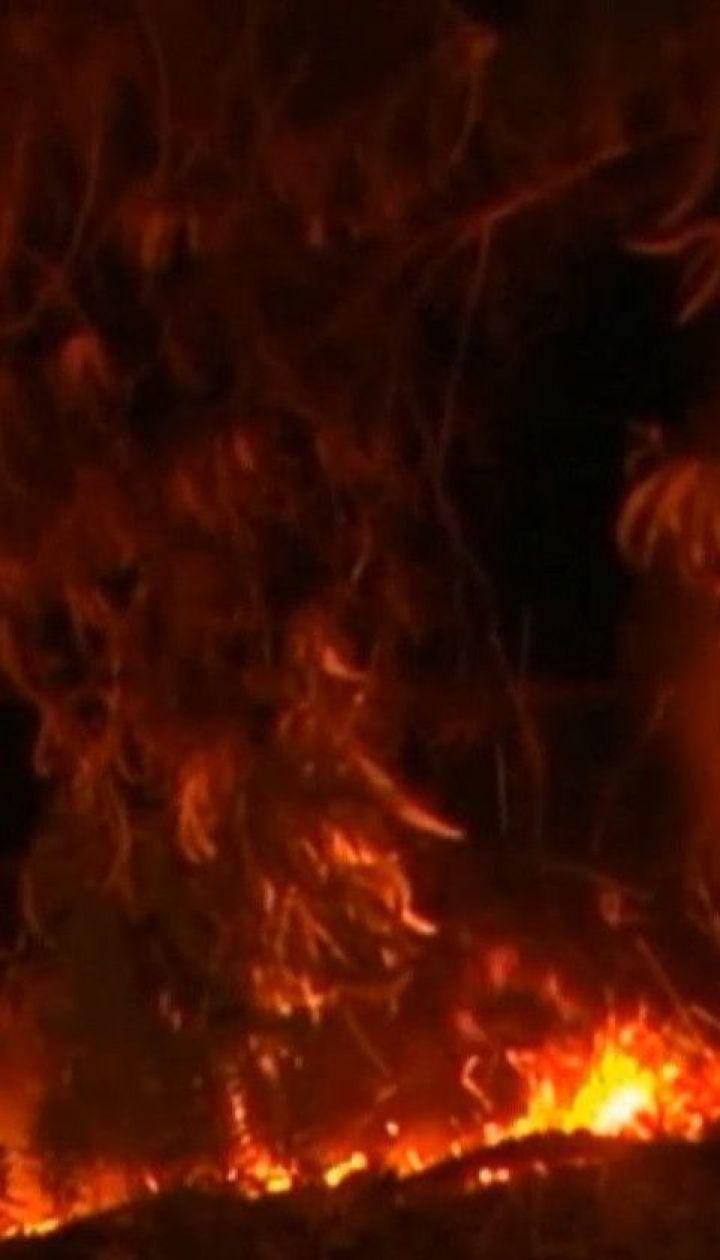 Вогнеборці втратили контроль над лісовими пожежами в Іспанії