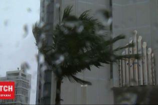 Югом Японии пронесся тайфун