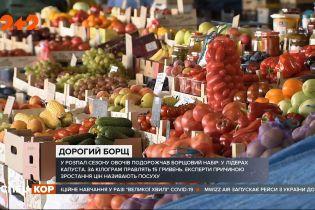 Сезон овочів у розпалі: скільки доведеться заплатити за основні продукти харчування