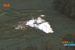 Разведывательный самолет ВМС США разбился неподалеку от острова Уоллопс, в штате Вирджиния