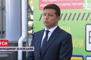 Володимир Зеленський перевірив об'єкти великого будівництва та висловив думку про карантинну освіту
