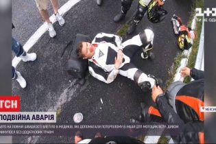 У Мексиці авто на повній швидкості влетіло в медиків, які допомагали потерпілому в іншій ДТП