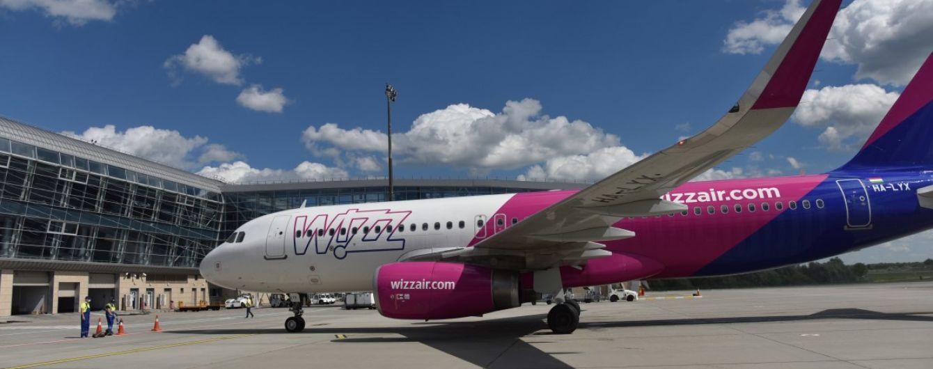 Wizz Air від вересня запускає рейси з України до Чехії