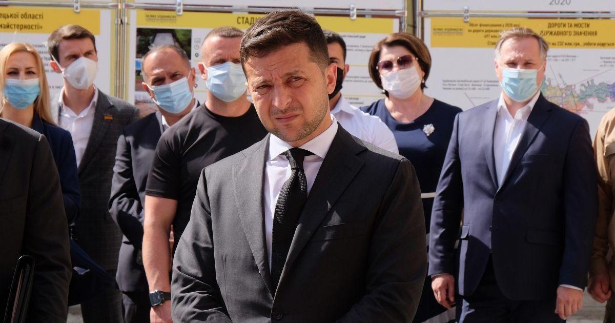 """Зеленський каже, що не наказував виганяти Лероса зі """"Слуги народу"""""""