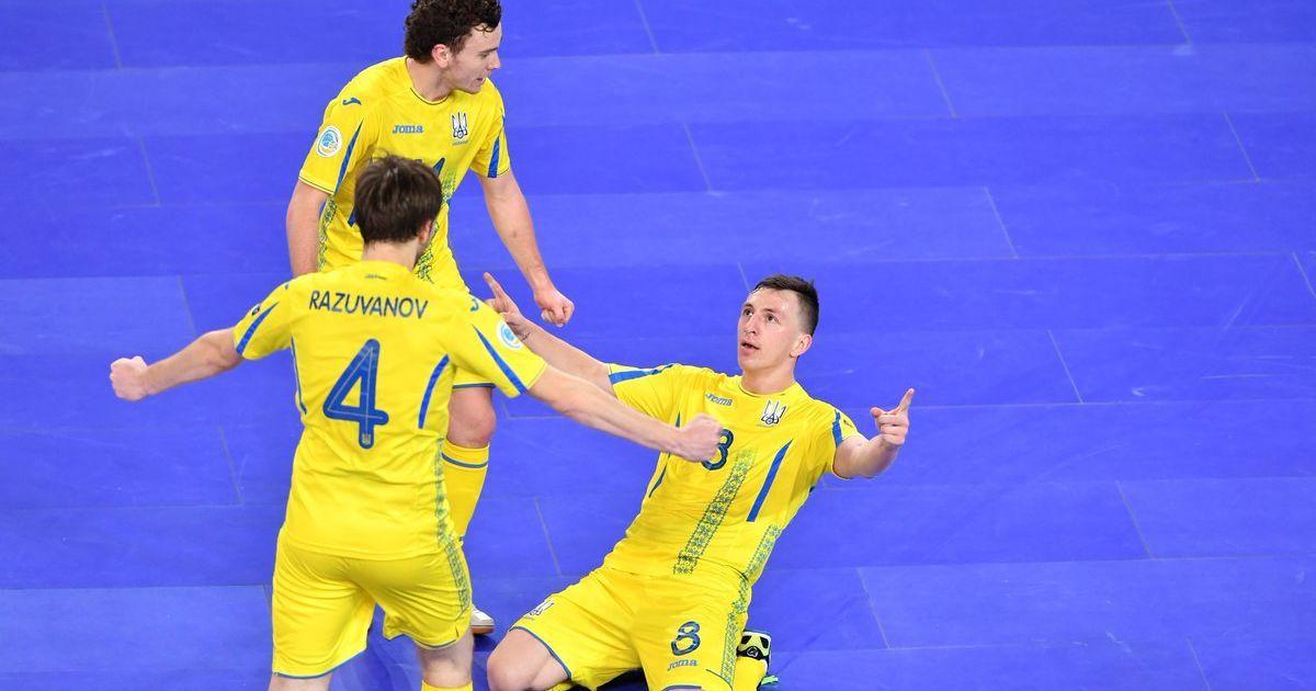 Збірна України з футзалу дізналася суперників у відборі на Євро-2022