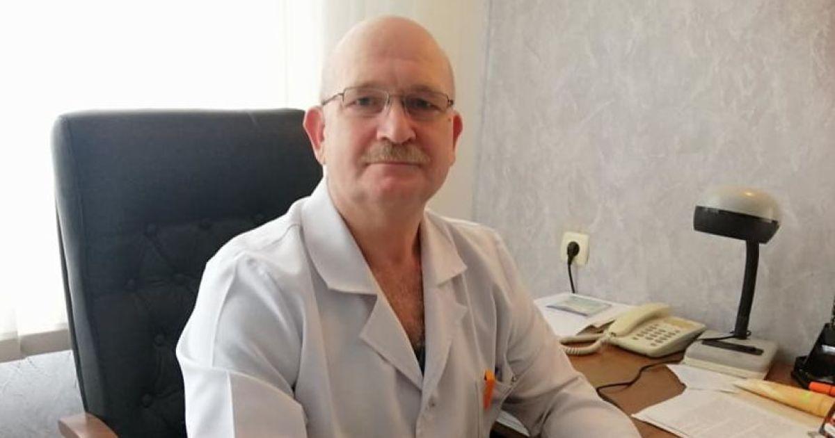 В Николаеве от осложнений, вызванных коронавирусом, умер заведующий хирургическим отделением