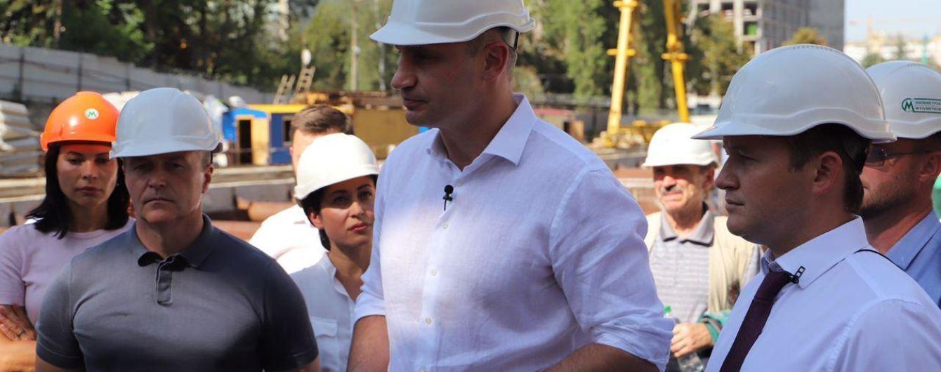 Кличко пообіцяв наступного тижня відкрити рух двома шляхопроводами у Києві