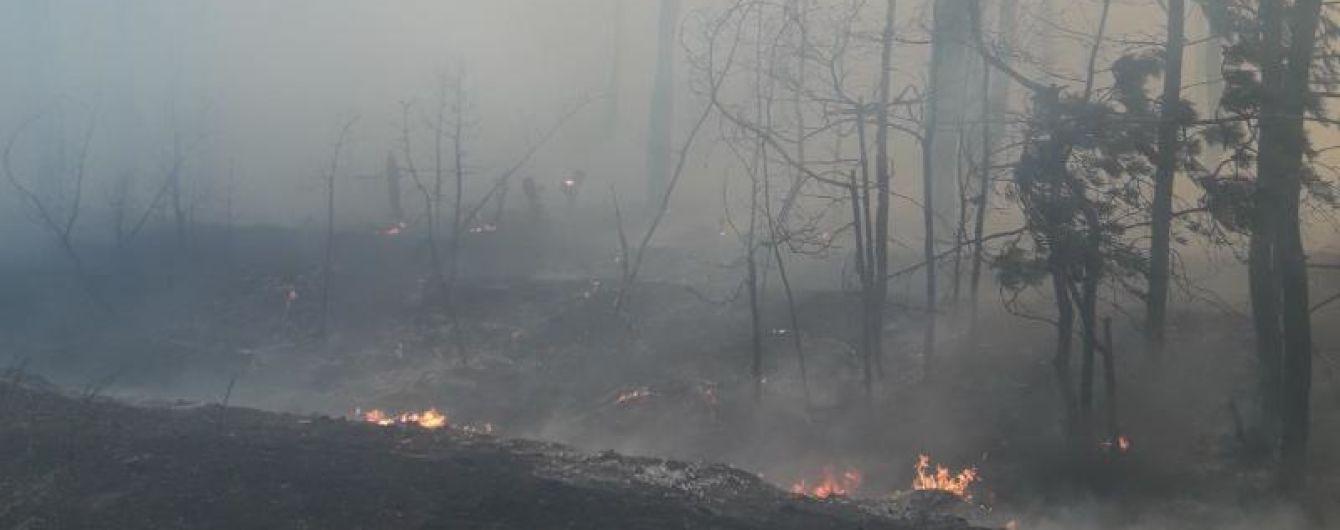 Спасателям удалось локализовать пожар в Харьковской области